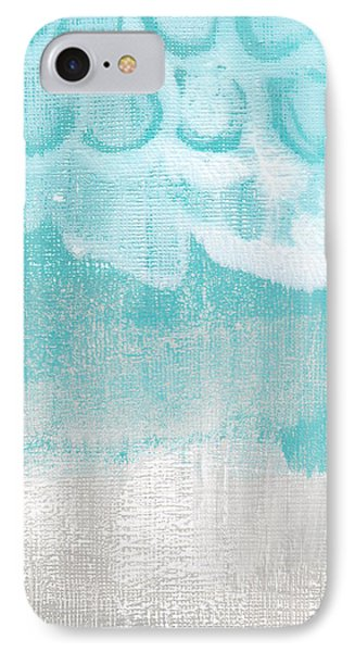Like A Prayer- Abstract Painting IPhone Case by Linda Woods