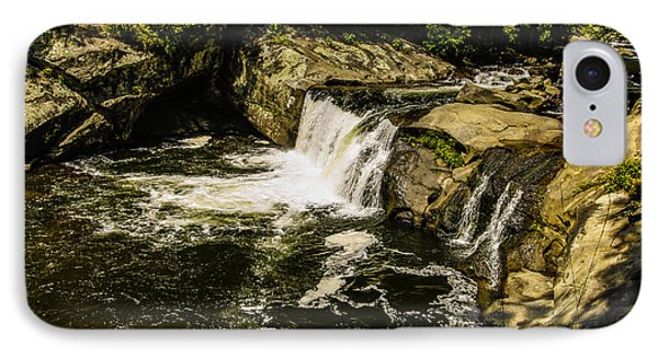 Lil Bald River Falls IPhone Case by Marilyn Carlyle Greiner