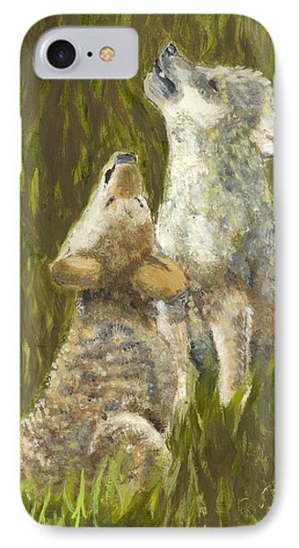 Li'l Howlers IPhone Case
