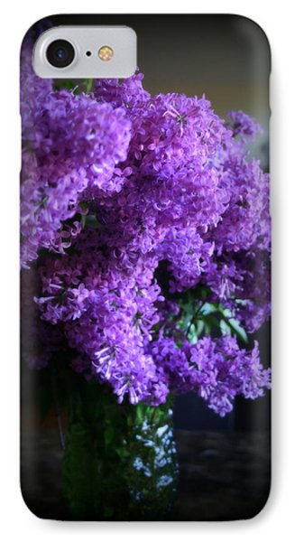 Lilac Bouquet Phone Case by Kay Novy