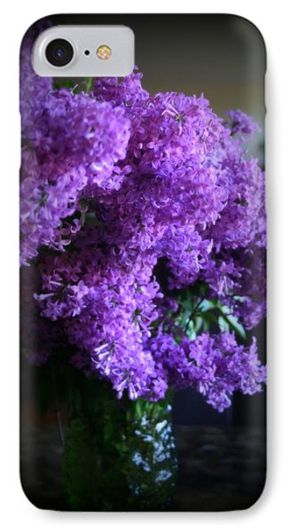 Lilac Bouquet IPhone Case by Kay Novy