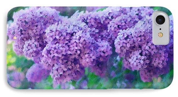 Lilac Cadenza IPhone Case by Georgiana Romanovna