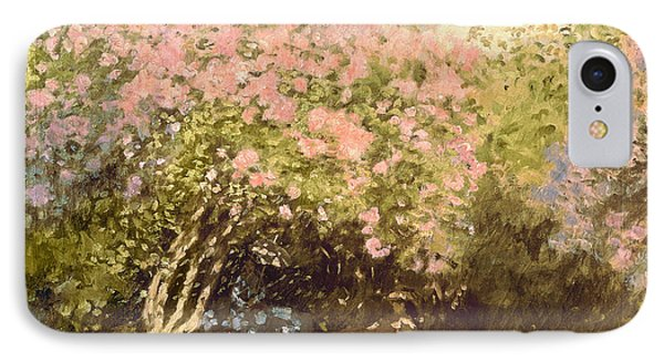 Lilac In The Sun, 1873 IPhone Case by Claude Monet