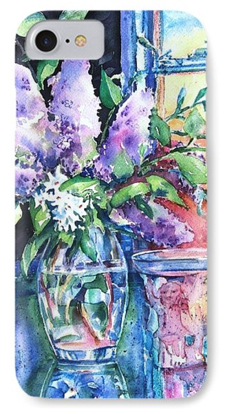Lilac Light IPhone Case by Trudi Doyle