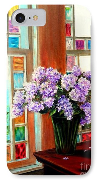 Lilac Reflections IPhone Case