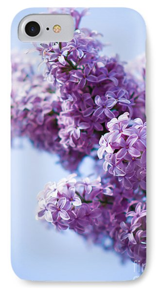 Lilac IPhone Case by Sergey Simanovsky