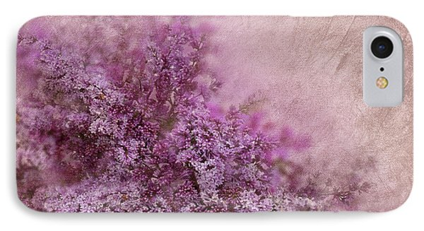 Lilac Splash IPhone Case by Svetlana Sewell