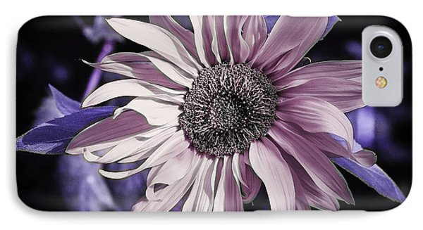 Lilac Sunflower IPhone Case by Michael Canning
