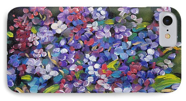 Lilac_burst_by_prankearts Phone Case by Richard T Pranke