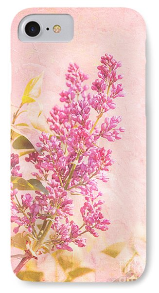 Lilacs In Pink Phone Case by Kay Pickens
