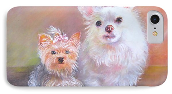 Lili And Tenti IPhone Case by Patricia Schneider Mitchell
