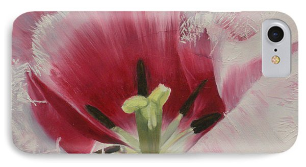 Lilicaea Tulipa IPhone Case by Claudia Goodell