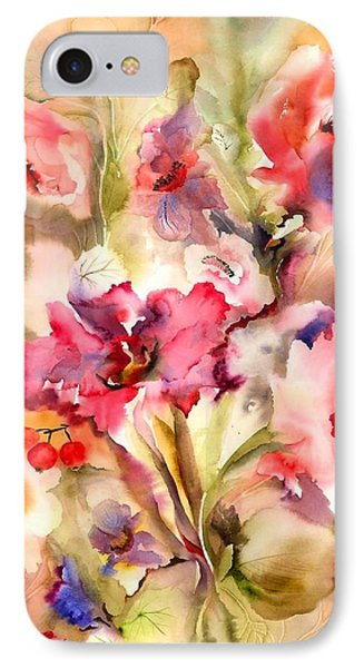 Lilies IPhone Case by Neela Pushparaj