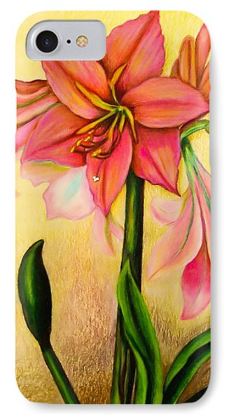Lilies Phone Case by Zina Stromberg