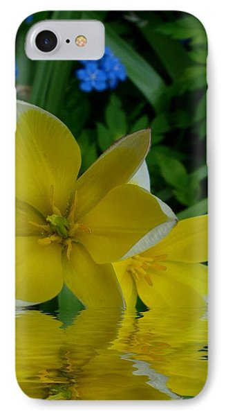 Lilium Of Gold Phone Case by Pepita Selles