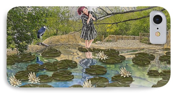 Lilly Pad Lane IPhone Case by Liane Wright
