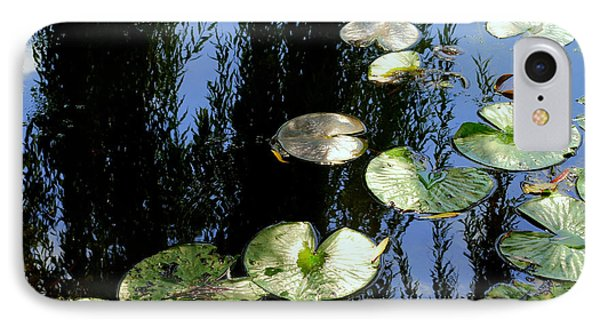 Lilly Pad Reflection Phone Case by Frozen in Time Fine Art Photography
