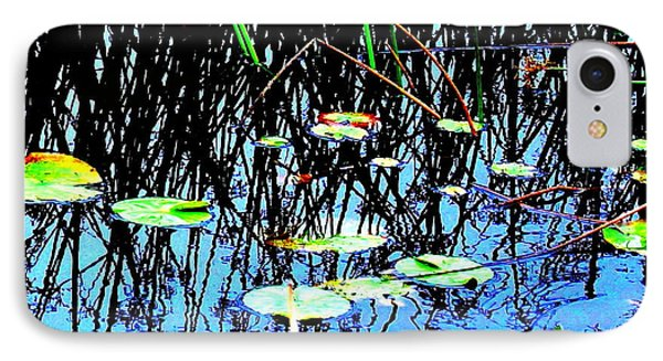 Lilly Pads - Abstract IPhone Case
