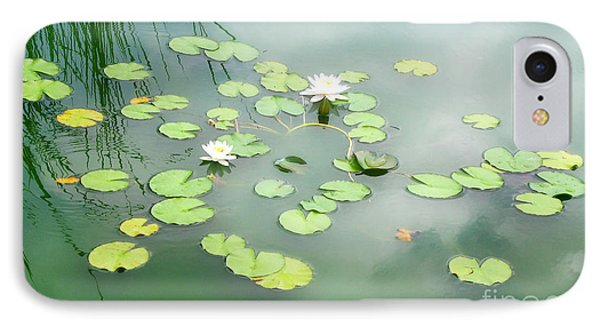 IPhone Case featuring the photograph Lilly Pads by Erika Weber