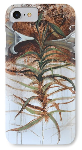 IPhone Case featuring the painting Lily by Alla Parsons