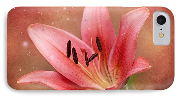 IPhone Case featuring the photograph Lily by Ann Lauwers