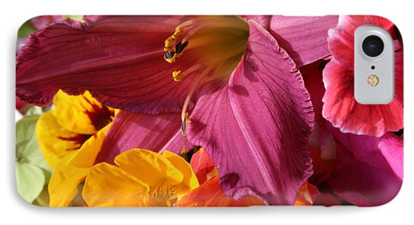 Lily IPhone Case by Jeanette French