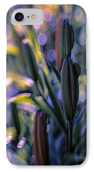 Lily Light IPhone Case by Jean OKeeffe Macro Abundance Art