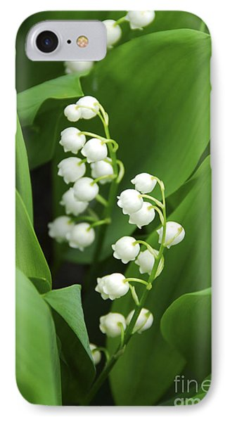 Lily-of-the-valley  IPhone Case by Elena Elisseeva