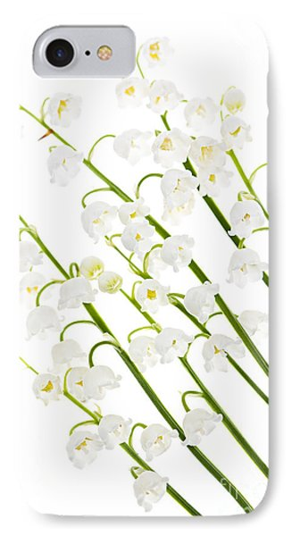 Lily-of-the-valley Flowers Phone Case by Elena Elisseeva