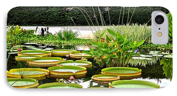 Lily Pad Garden Phone Case by Frozen in Time Fine Art Photography