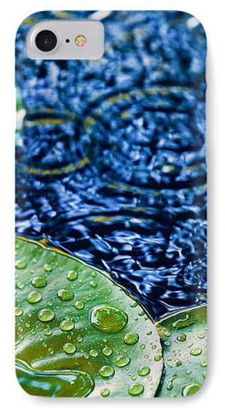 Lily Pads IPhone 7 Case by Debi Bishop