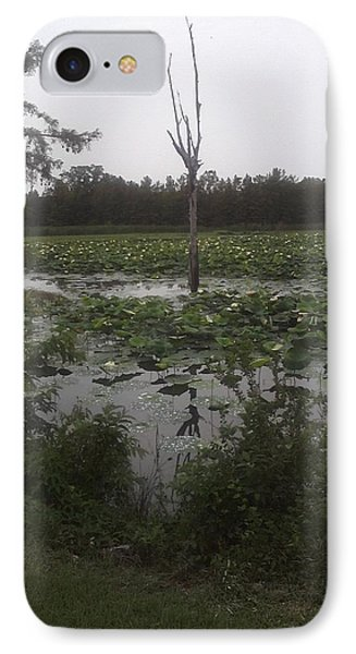 IPhone Case featuring the photograph Lily Pads by Fortunate Findings Shirley Dickerson