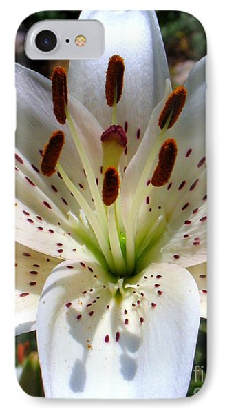 Lily Phone Case by Patti Whitten