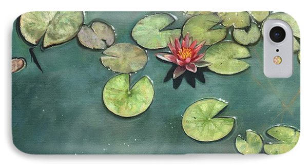 Lily Pond Phone Case by David Stribbling