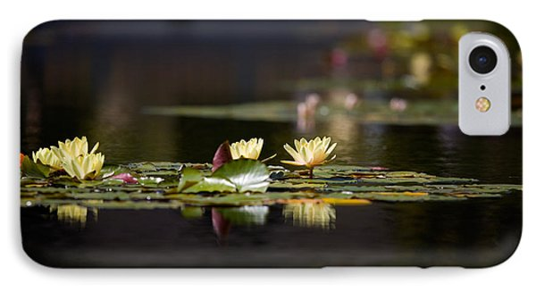 Lily Pond IPhone Case by Peter Tellone