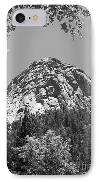 Lily Rock In Black And White Phone Case by Glenn McCarthy Art and Photography