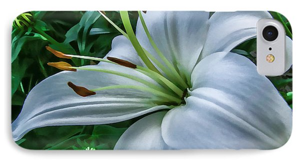 Lily IPhone Case by Skip Tribby
