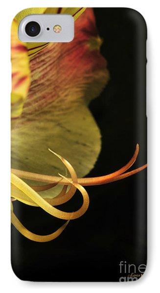 Lily Stamens Phone Case by Karen Slagle
