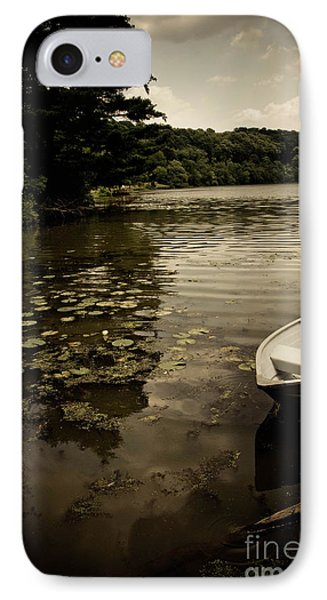 Lilypads In The Lake Phone Case by Amy Cicconi