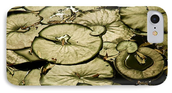 IPhone Case featuring the photograph Lilypads by Janis Knight