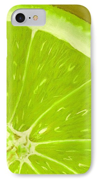 Lime IPhone Case by Anastasiya Malakhova