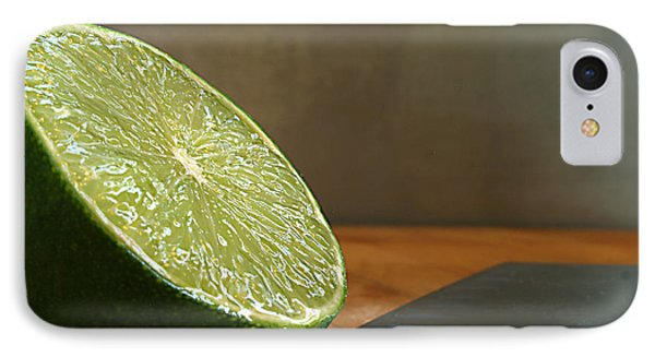 Lime Blade IPhone Case by Joe Schofield
