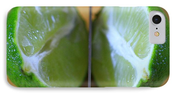 Lime Halves IPhone Case by Dan Sproul