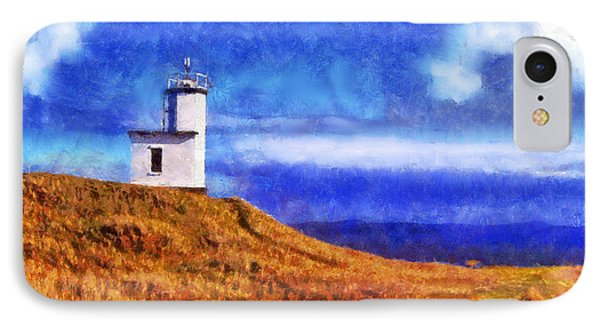 IPhone Case featuring the digital art Lime Kiln by Kaylee Mason