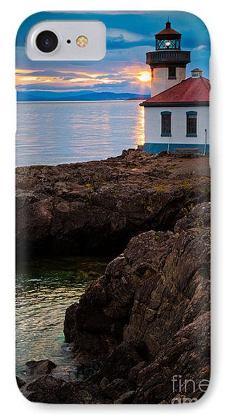 Lime Kiln Sunburst IPhone Case by Inge Johnsson