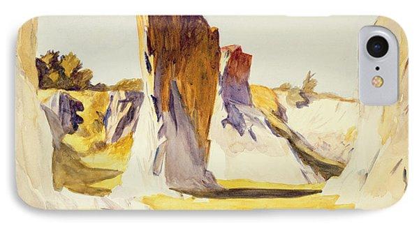 Lime Rock Quarry II IPhone Case by Edward Hopper
