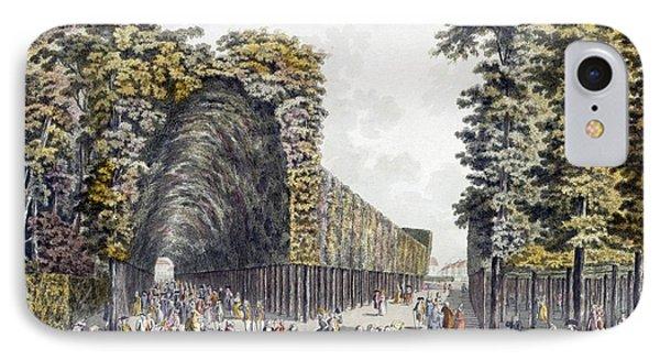 Limegrove Walk, Augarten, Vienna, 1790s IPhone Case