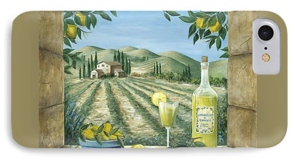 Limoncello IPhone Case by Marilyn Dunlap