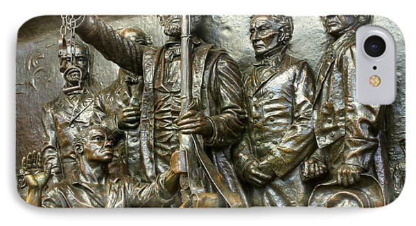 Lincoln Arming The Freed Slaves Phone Case by David Bearden