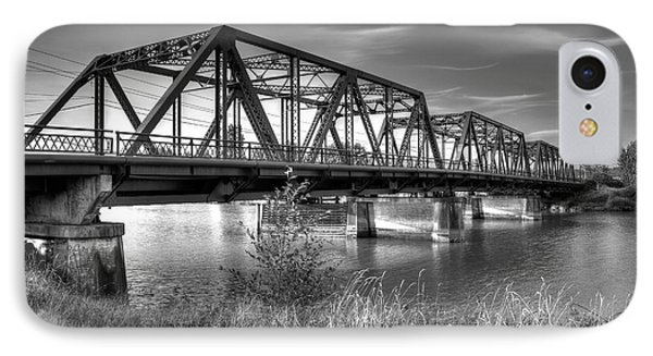 Lincoln Ave. Bridge IPhone Case by Rob Green